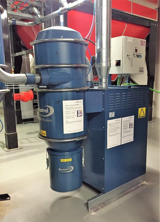 Dustcontrol, Centralrengøring, Centralstøvsuger, Industrirengøring