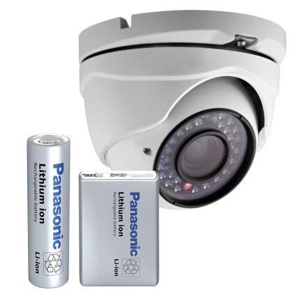 Batterier til overvågning