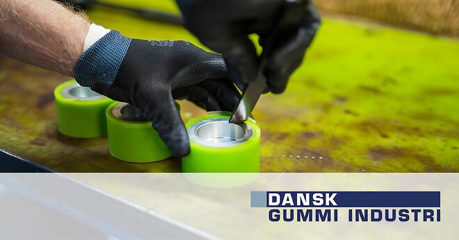 polyurethan hjul gummi dansk gummi industri