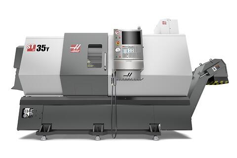Haas ST-35Y 2019 - cnc-Svarv, begagnade industrimaskiner
