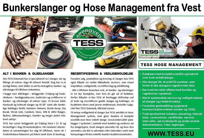 Bunkerslanger og Hose Management | TESS Danmark