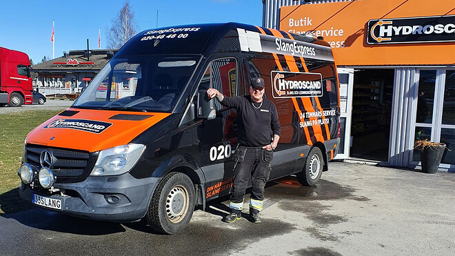 Hydroscand lanserar SlangExpress i Nässjö