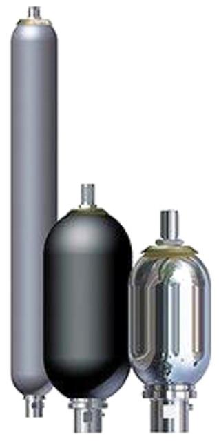 Hydrauliske akkumulatorer - Akkumulatorer -  blære, membran, stempel,