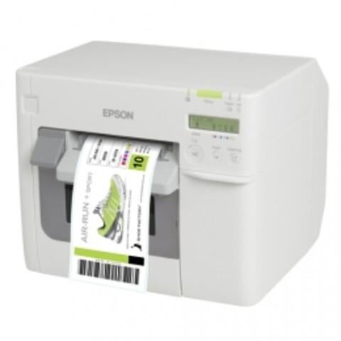 3 års garanti utan extra kostnad - Epson färgetikettskrivare C3500
