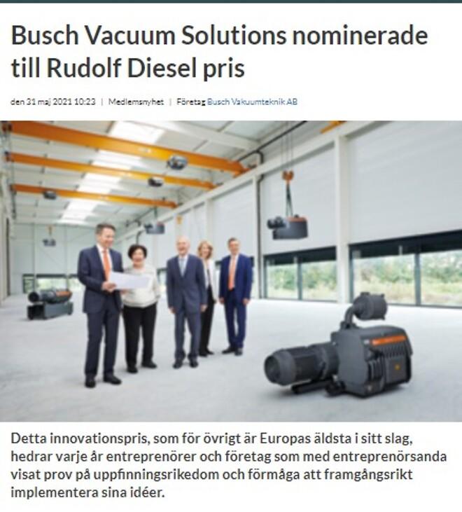 Ledningen av Busch Vacuum Solutions ligger ännu helt i familjen Buschs händer. Från vänster: Kaya, Ayhan, dr Karl, Ayla and Sami Busch.