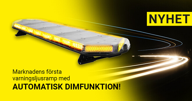 Varningsljusramp Legion med dimfunktion