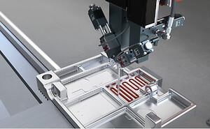 dosering varmeledende materiale væskeudlægning batteri printkort indkapsling