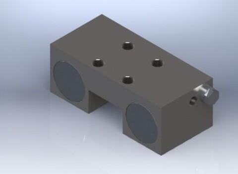 Pneumatisk låseelement (MK) fra Aluflex System