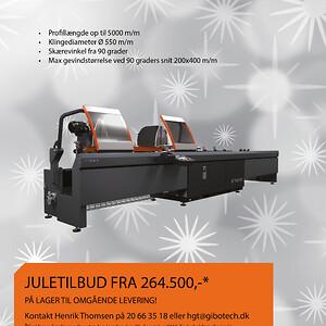 Tekna TKE 551 julekampagne 2018