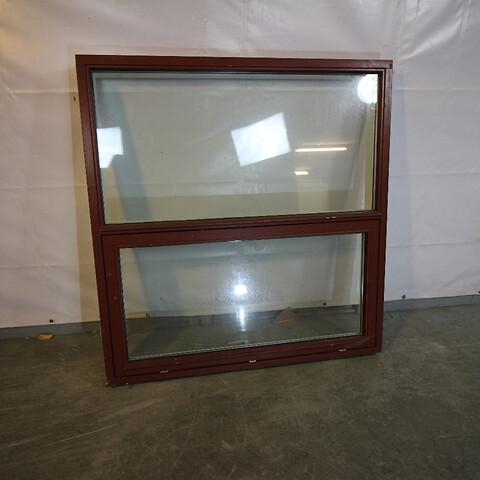 Topstyret fast vindue, træ, 009528