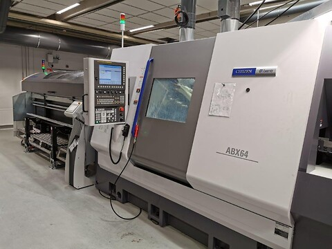 CNC-drejning - Miyano ABX-64 THY.
