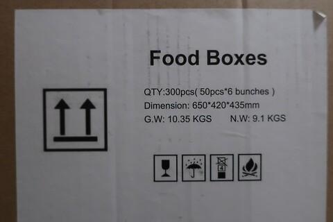 5700 stk. madboks med vindue
