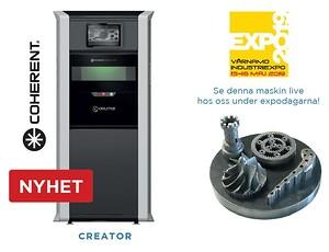 Creator OR Laser 3D-metallprinter