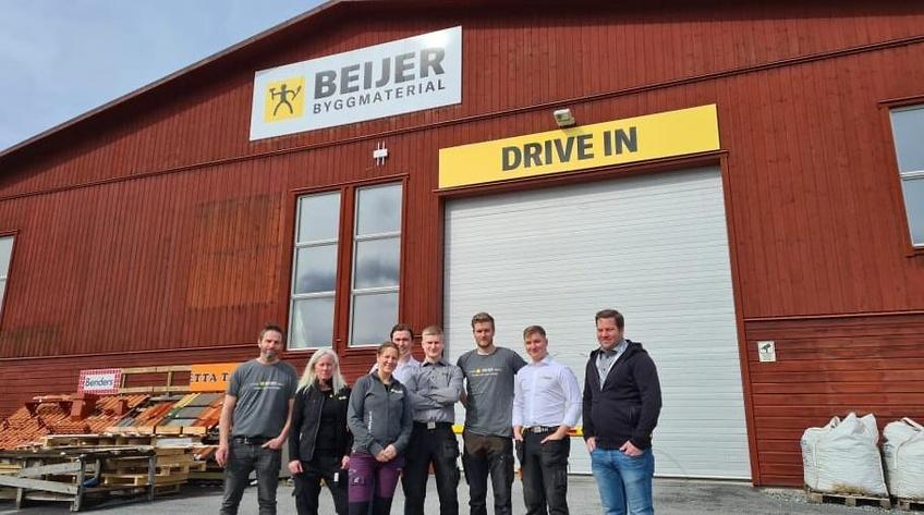 Beijer öppnar byggvaruhus i rekordfart