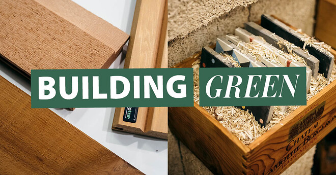 Udstil dine bæredygtige produkter til Building Green Aarhus.
