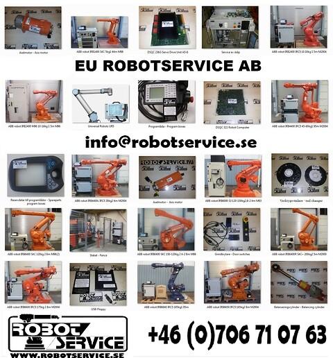 Reservdelar till ABB robotar
