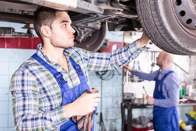 Tillbud på arbetsplatsen, motorbranschen