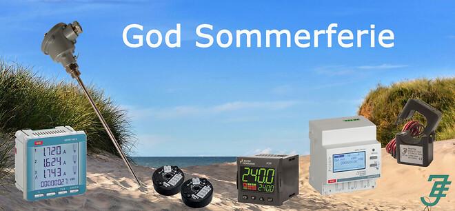 Jensen Electric holder sommerferie i uge 28, 29 og 30 husk at bestille temperaturføler inden
