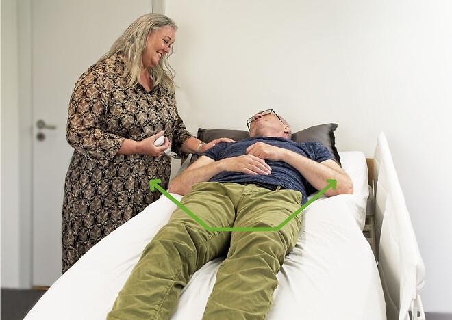 Careturner - Vendesystem til OPUS 1. Beroligende kramme- og vuggefunktion.