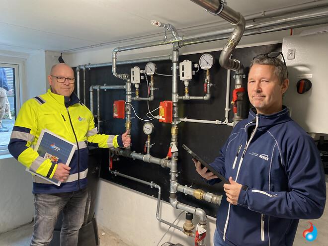 Sprinkleranlæg godkendt af brandinspektionen