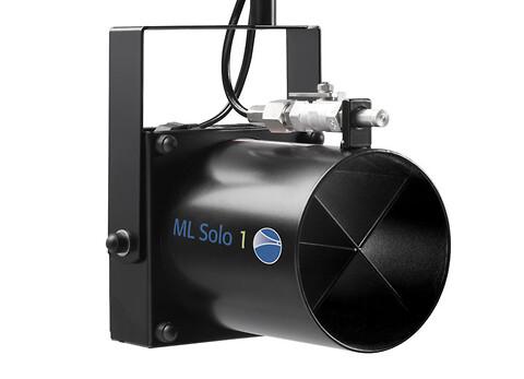 ML Solo: Högtrycksbefuktare för direkt rumsbefuktning - ML Solo er en energibesparende befugter til direkte rum.