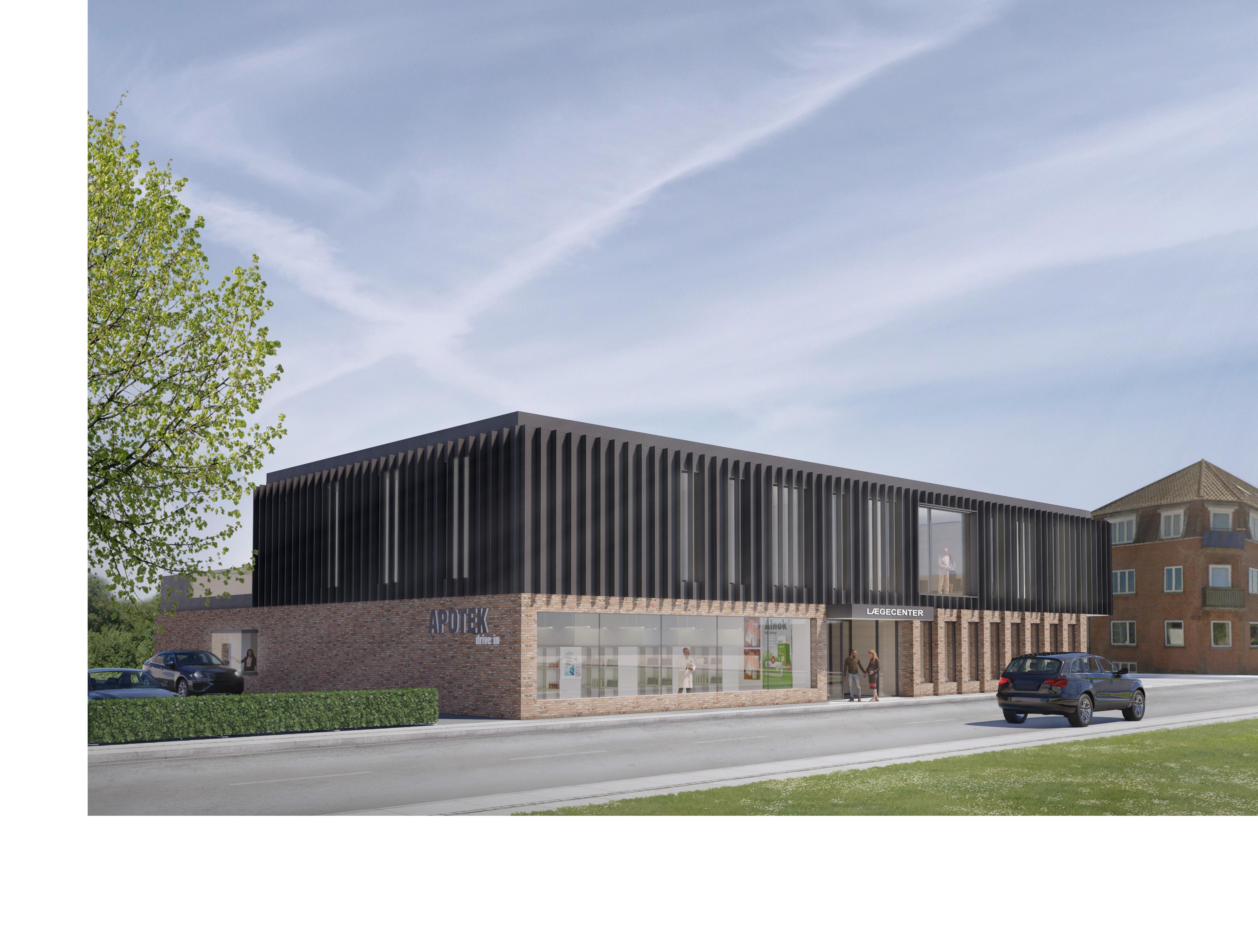 Udviklingsfirma starter nyt projekt i Fredericia Building