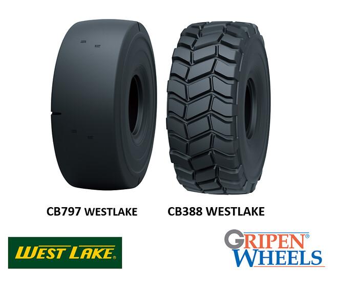 CB388 CB797 Gripen Wheels WESTLAKE