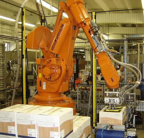 Palletering med robot