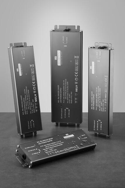 SPA Serien - en super tynd LED driver -- Power Technic - SPA serien fra Snappy. Forhandler er Power Technic