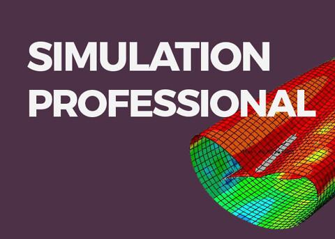 SOLIDWORKS Simulation Professional - Flere analysemuligheder med varme og vibrationer