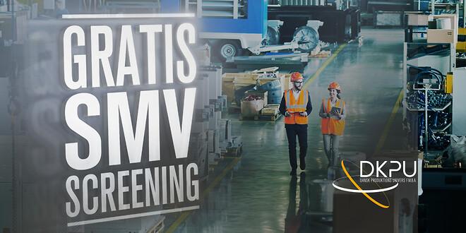 gratis screeningsforløb af din produktionsvirksomhed med henblik på optimering og udvikling inden for digitalisering og automatisering