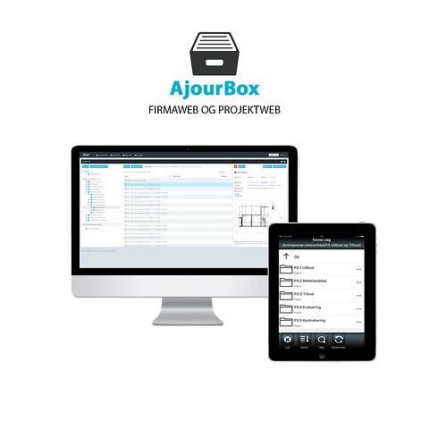 AjourBox - Projektweb til dokumenthåndtering med revision- og versionsstyring