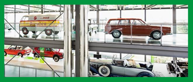 Veteranbilsmuseum med förbättrat inomhusklimat.