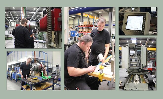 Reparation af CNC-maskiner