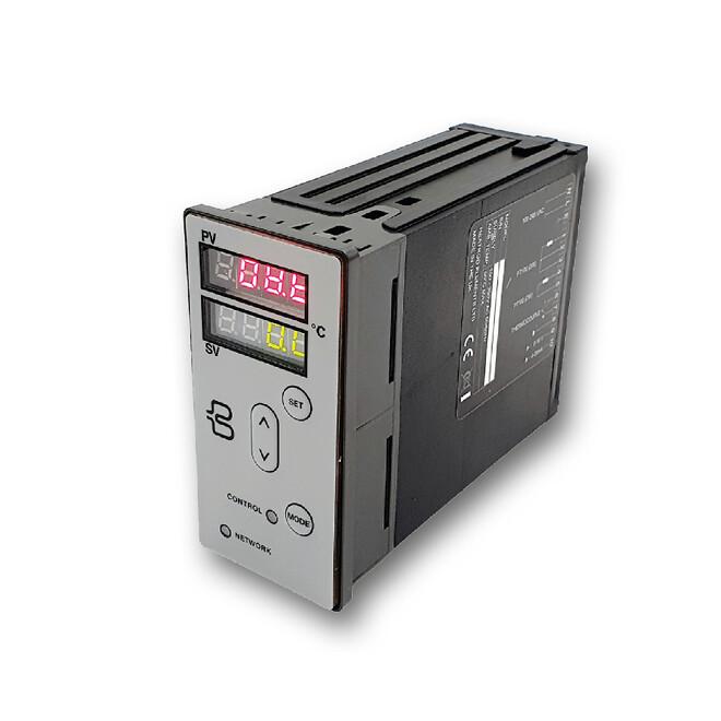 Backer IoT Smart Temperatur regulator (HRDc), utvecklad för styrning och övervakning av processtemperaturer, aktuell energianvändning, kostnader och driftsdata.