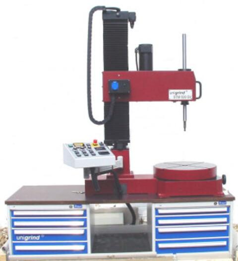 Slipemaskin for sikkerhetsventiler, Unigrind Mod. STM 500 SV fra ABC-Maskin