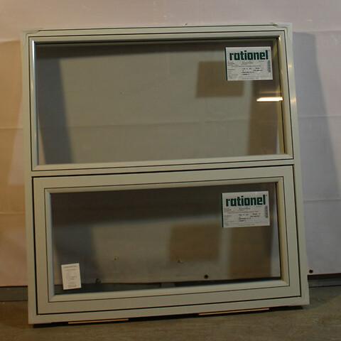 Topstyret vindue i træ/alu, 008783
