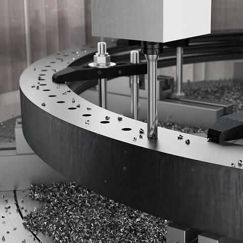 Det første indekserbare boret for hulldybde på 7 x D