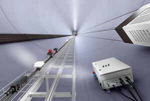 Wieland Electric viser central UPS til vindmølle tårne på Wind Energy Denmark 2019 messen