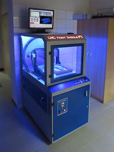 CNC maskine med Busch vakuum