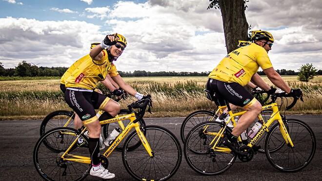 Christina Igel på vej til Paris for Team Rynkeby Nordsjælland