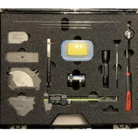 Avancerad svetsinspektionssats - advanced weld kit, udvidet svejsekit