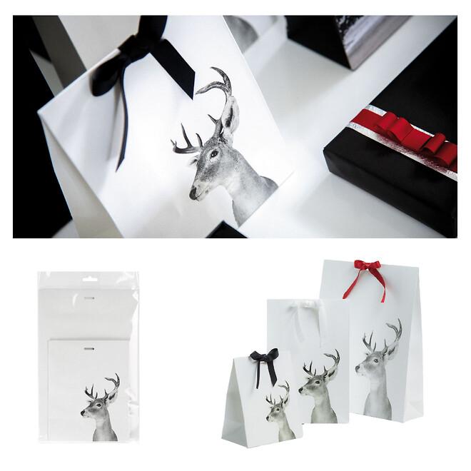 juleindpakning til butikken gaveposer og gavepapir - Scanlux Packaging
