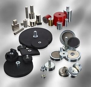 Magneter, stærke magneter, neodymium magneter, neodym magneter, kraftige magneter, pottemagneter, gummimagneter, indkapslede magneter