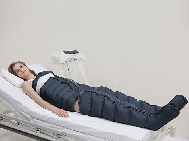 Pressoterapibehandling