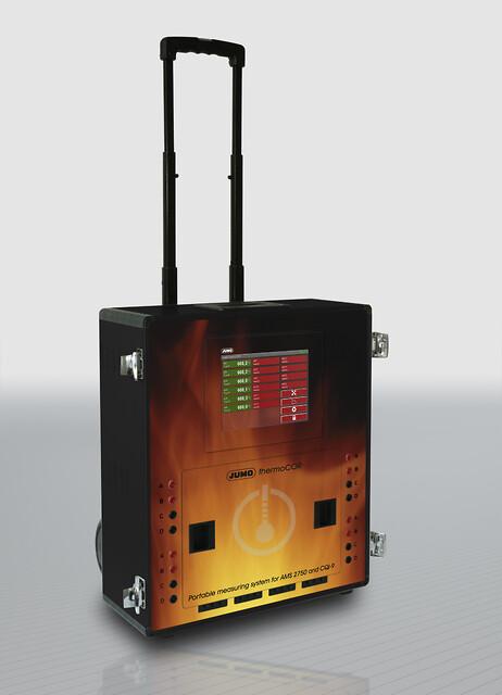 Portabelt mätsystem för AMS2750 och CQI-9 från JUMO