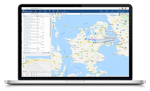 GPS-baseret flådestyring til små og store virksomheder - Flådestyring fra Fleet Complete