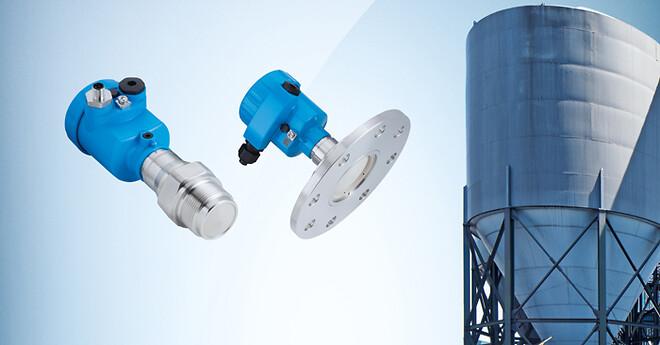 LBR radarsensor til niveaumåling i siloer op til 120 meter