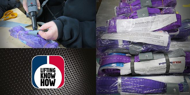 Mærkning med årsfarve på rundsling og båndstropper