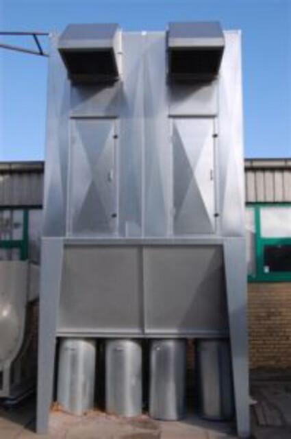 Sækketømningsfiltre - filtersystem til lakspudsestøv eller mindre mængder af træaffald - sækketømningsfiltre